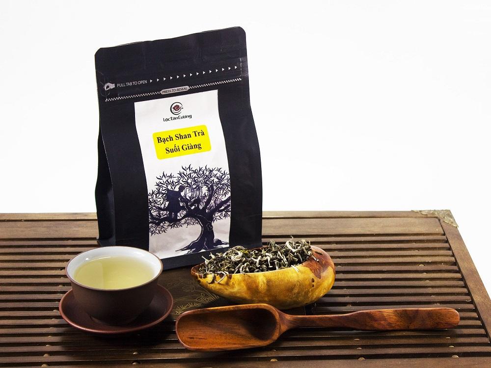 Bạch trà shan tuyết Suối Giàng - Lộc Tân Cương
