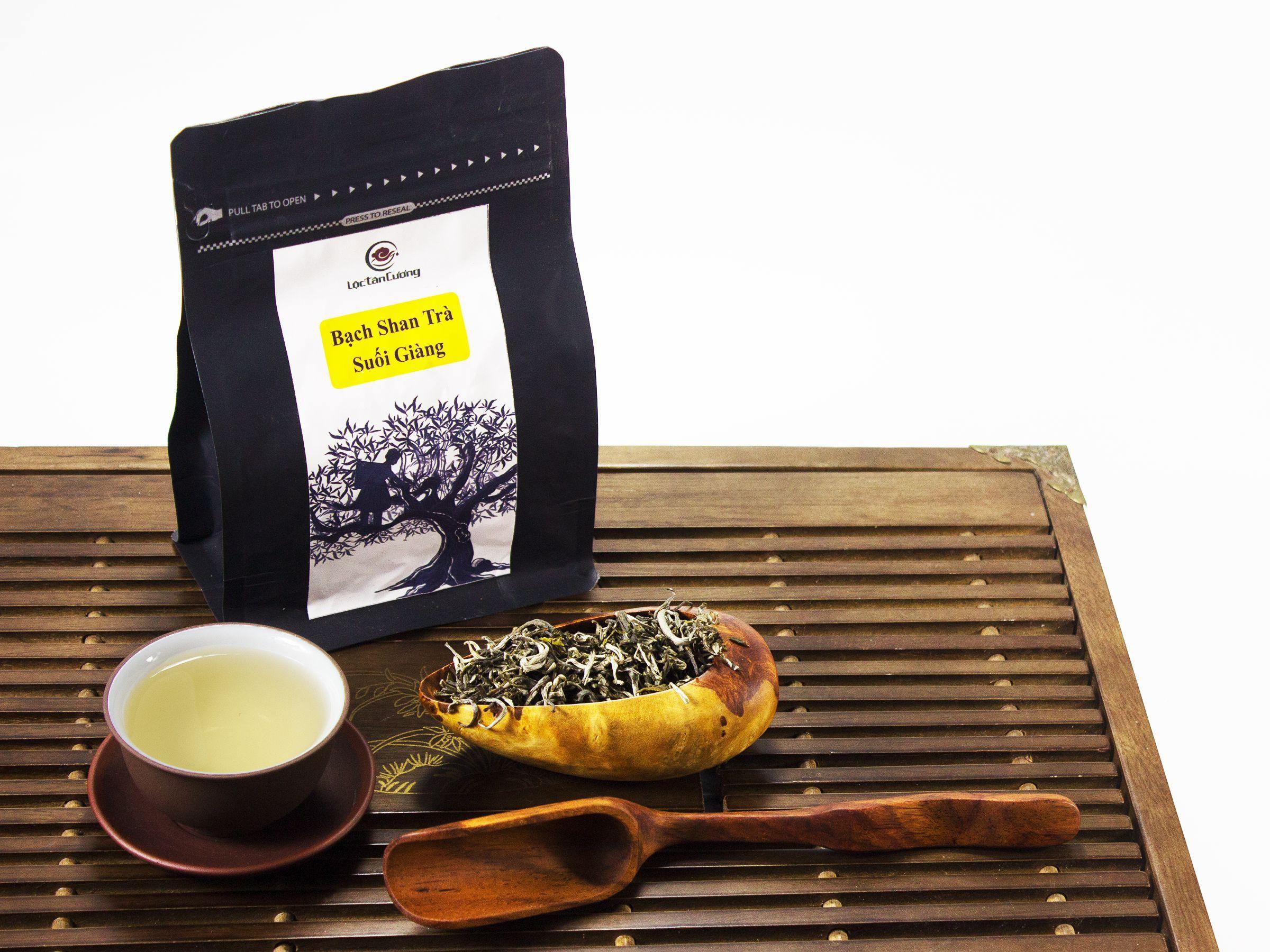 Bạch shan trà Suối Giàng túi 100g: 240.000đ