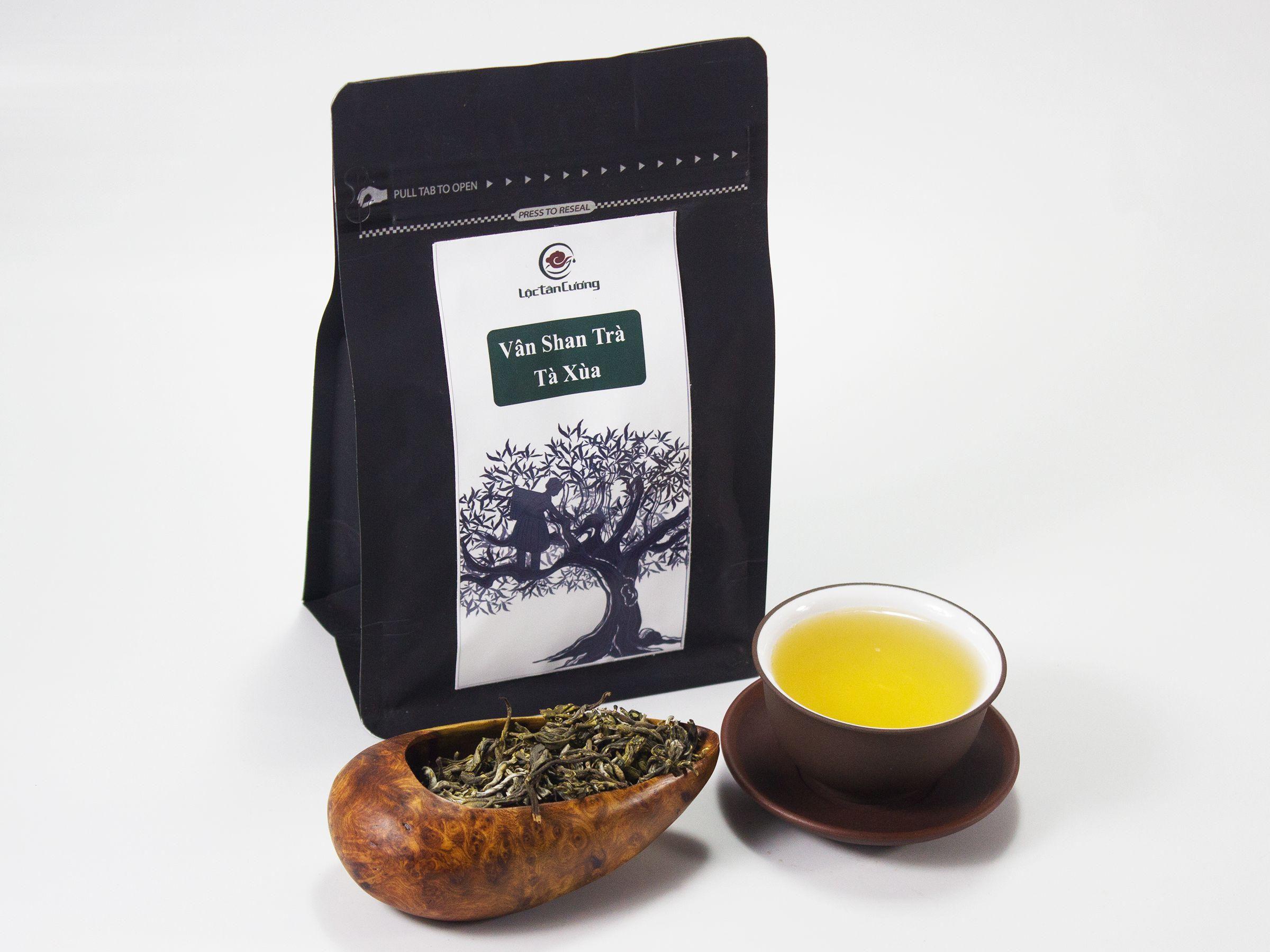 Vân shan trà Tà Xùa túi 100g: 180.000đ