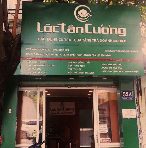 Cửa hàng Lộc Tân Cương tại quận Bình Thạnh