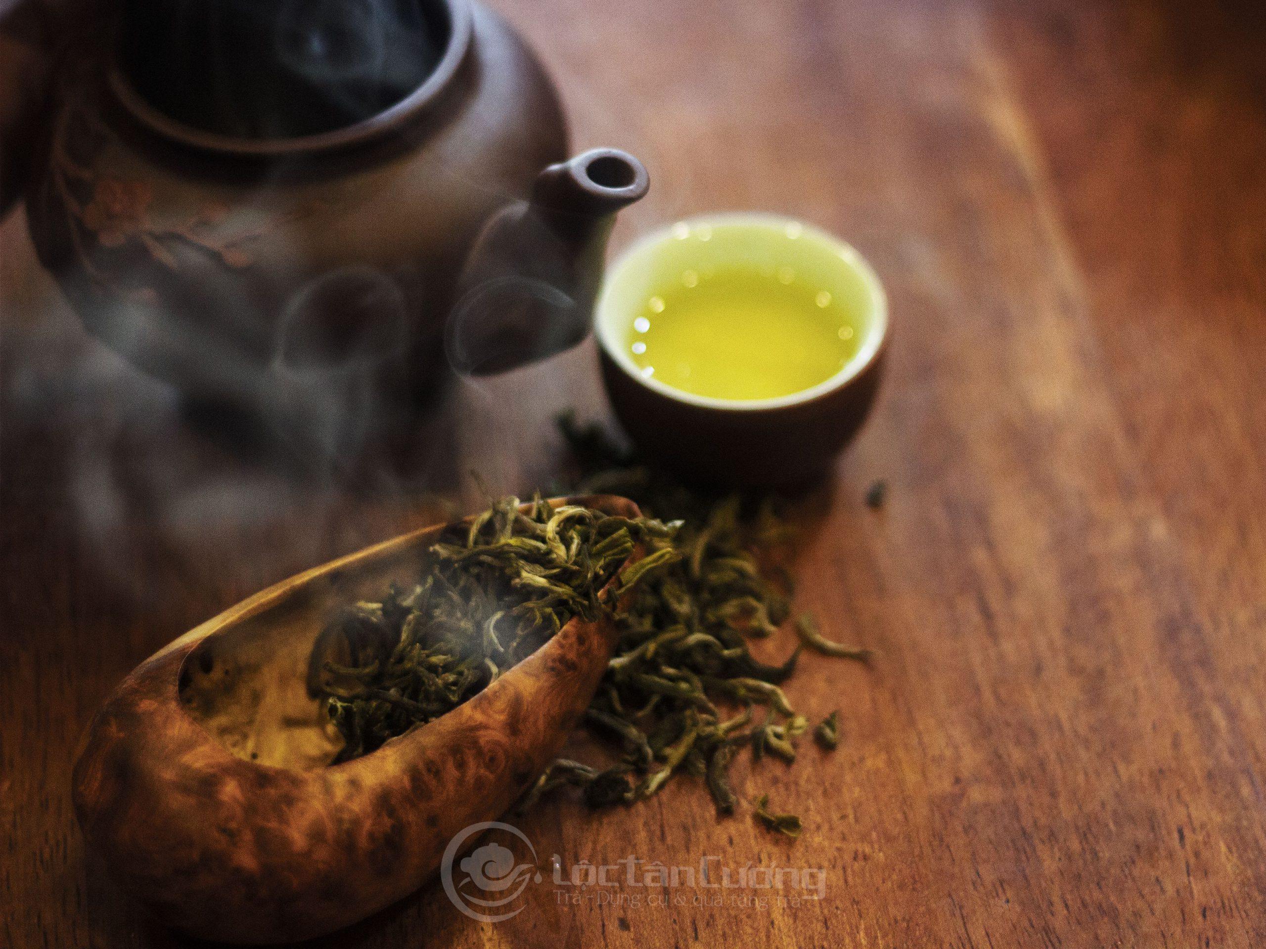 """trà shan tuyết """"sáu không"""" được ví như một thứ dược liệu quý rất tốt cho sức khỏe"""