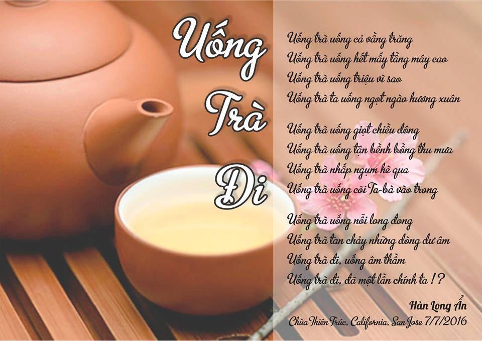 Trà đi vào trong thơ ca Việt Nam